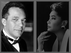 Clifton Davis-Nancy Wilson, host 1978 UNCF